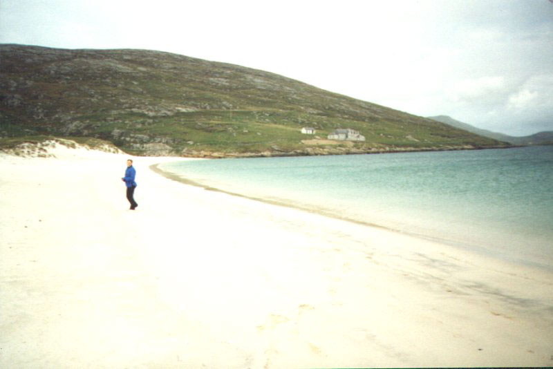 Outer hebrides kite surfing